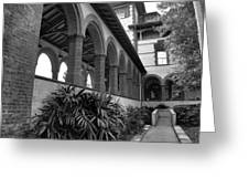 Flagler College Walkway Greeting Card