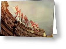 Flags Of London Greeting Card