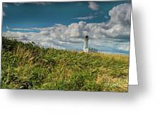 Flamborough Lighthouse, North Yorkshire. Greeting Card