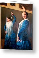 Flamenco 3 Greeting Card