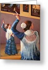 Flamenco 7 Greeting Card