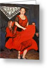 Flamenco 8 Greeting Card