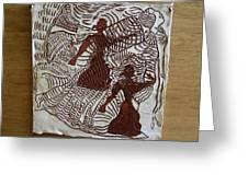 Flamenco Passion 3 Greeting Card