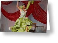 Flamenco Show Nr 2 Greeting Card