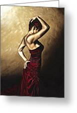 Flamenco Woman Greeting Card