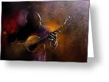 Flamencoscape 14 Greeting Card