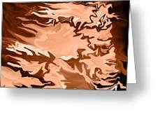 Flaming Horse   -023 Greeting Card