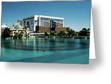 Flamingo Casino/hotel Greeting Card