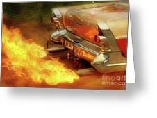 Flam'n Greeting Card