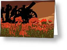 Flanders Fields 1 Greeting Card
