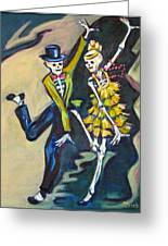 Flappers Greeting Card