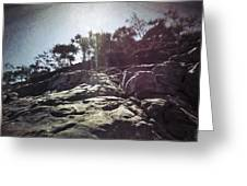 Flare Rock Greeting Card