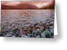 Flathead Lake 7  Greeting Card