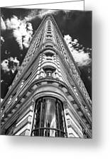 Flatiron Building  Nyc Greeting Card