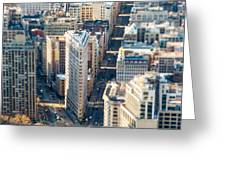 Flatiron Building Greeting Card