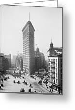 Flatiron Building - Vintage New York - 1902 Greeting Card