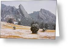 Flatiron Meadows - Boulder Colorado Greeting Card