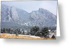 Flatirons Greeting Card