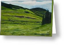 Flattops Wilderness Greeting Card
