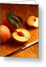 Flavorcrest Peaches Greeting Card