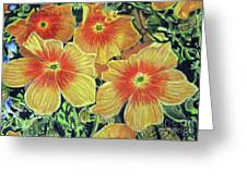 Flax Greeting Card