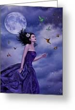 Fleeting Beauty Greeting Card