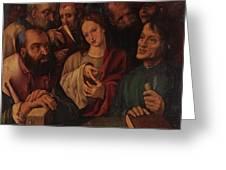 Flemish Artist 16 17th Century. Greeting Card