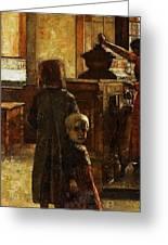 Flemish Tavern Greeting Card