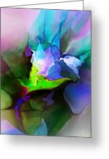 Fleur-de-abstraction Greeting Card