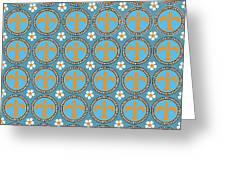 Fleur De Lis Pattern No. 2 Greeting Card