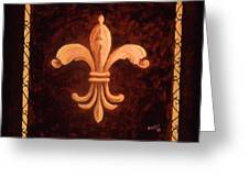 Fleur De Lys-king Charles Vii Greeting Card