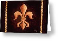 Fleur De Lys-king Louis Xv Greeting Card