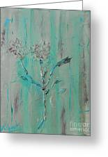 Fleur De Sage Greeting Card