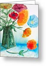 Fleur Primitiv Greeting Card