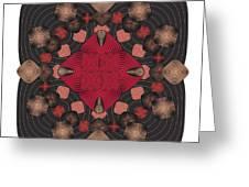 Fleuron Composition No. 157 Greeting Card