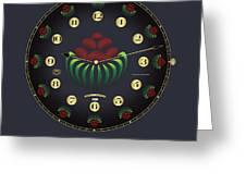 Fleuron Composition No. 166 Greeting Card