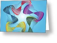 Fleuron Composition No. 178 Greeting Card