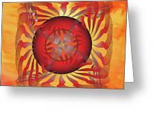 Fleuron Composition No. 204 Greeting Card