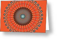 Fleuron Composition No 236 Greeting Card