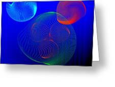 Fleuron Composition No.112 Greeting Card