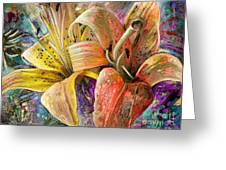 Fleurs De Lys 01 Greeting Card