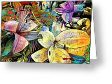 Fleurs De Lys 02 Greeting Card