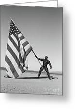 Flex Flag Greeting Card