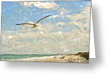 Flight From Canaveral Greeting Card