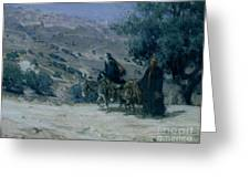 Flight Into Egypt Greeting Card