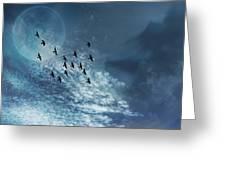 Flight Of Dreams Greeting Card