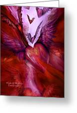 Flight Of The Heart Greeting Card