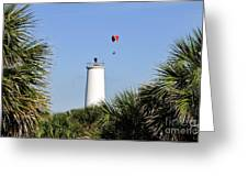 Flight Over Egmont Key Greeting Card