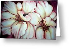 Flighty Floral Greeting Card