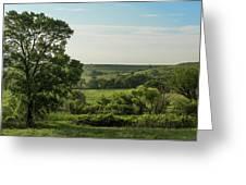 Flint Hills Landscape 784 Greeting Card